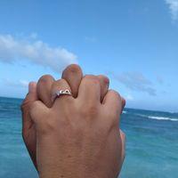 ¿Quién eligió el anillo de compromiso, tú o él? Compártelo 💍 - 1
