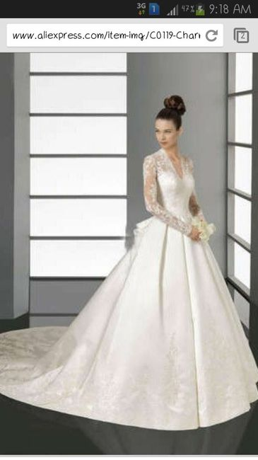 Paginas de internet para comprar vestidos de novia