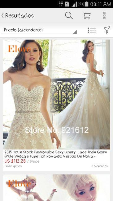 d781d4206 Recomendaciones de páginas de internet confiables para comprar vestidos de  novia - 1