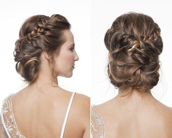 opciones de peinados altos y medio bajos - Peinados Bajos