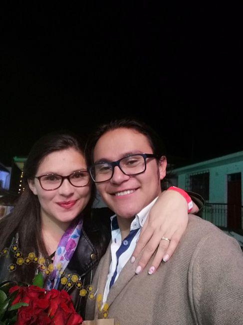 Asi festejamos nuestro amor Luis y Yeniffer 1