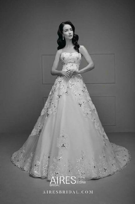 717ad299b Vestido de novia