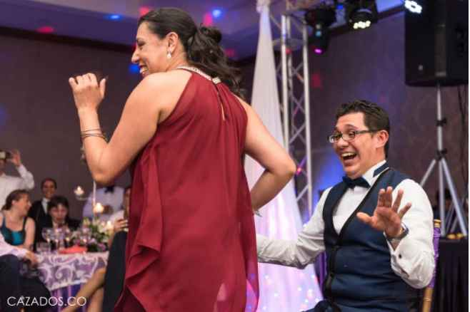 7. Baile sensual al novio.