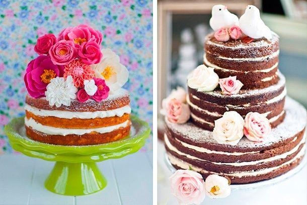 Tortas Para Matrimonio Rustico : Tu pastel de boda con forma perfecta