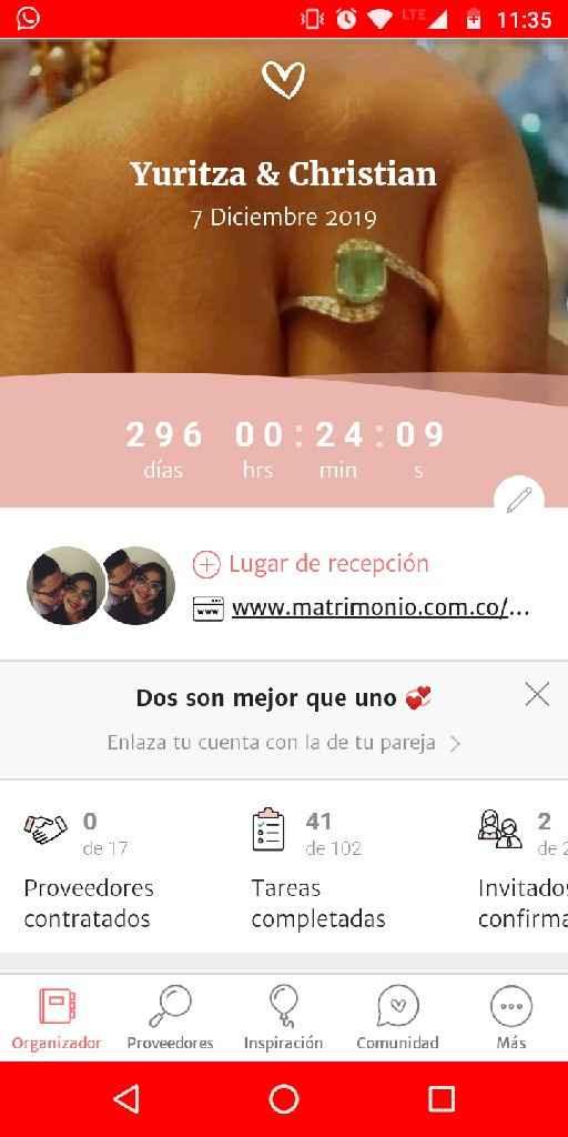 ¿A cuántos días estas de tu matrimonio? 📆 - 1