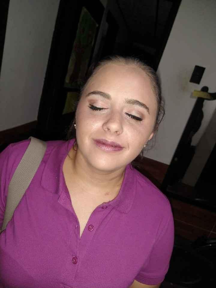 Prueba de maquillaje 🎨🖌️ - 2