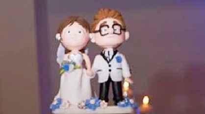 Todavia se usan de decoracion los munequitos novios para la decoracion de la torta? - 1
