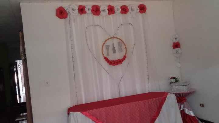Color de la  decoración del matrimonio - 1