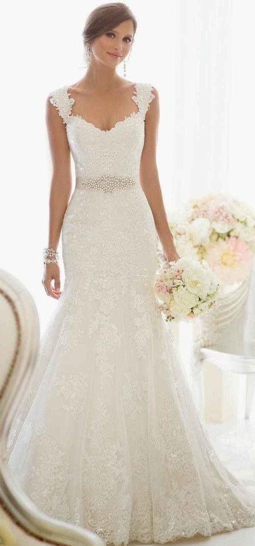 Vestido de novia corte sirena, me encanta este estilo.