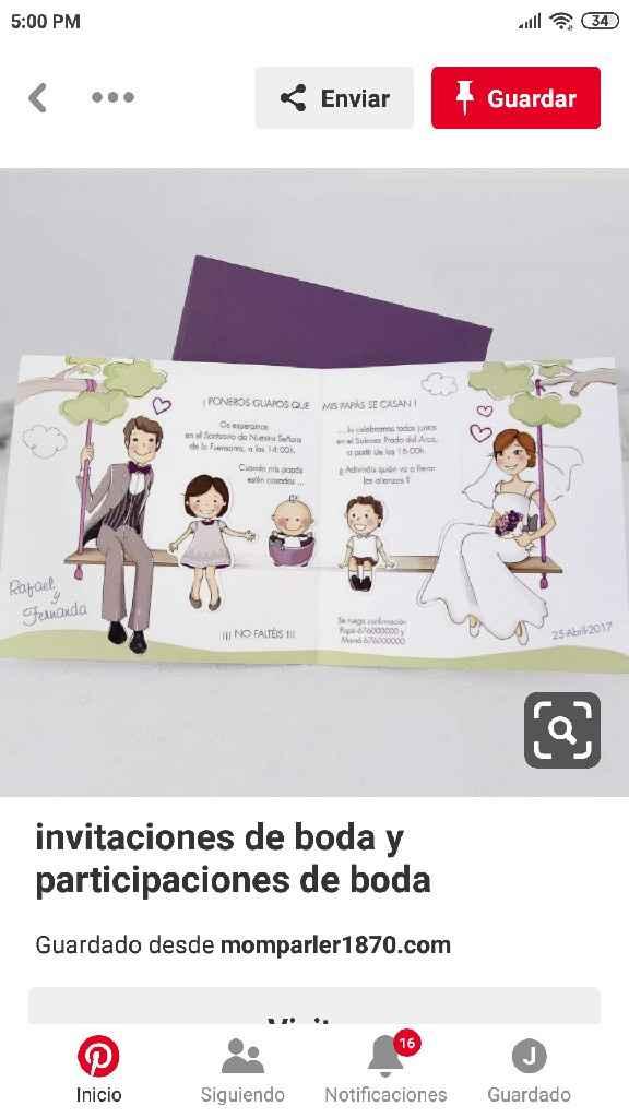 ¿Ya tienes las invitaciones de tu matrimonio? - 1