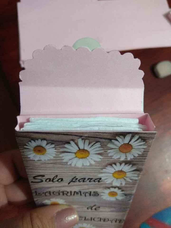Cajita de Pañuelitos para la ceremonia - 5