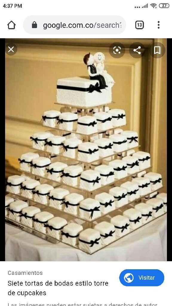 ¿Cuántos pisos va a tener tu ponqué de matrimonio? - 1