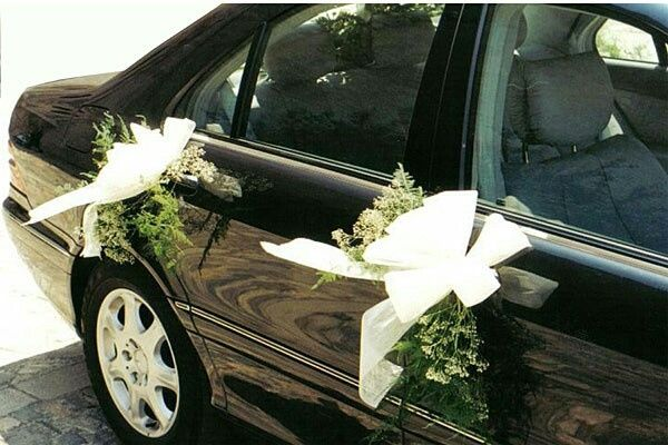 Decoraci n carro de la novia - Decoracion coche novia ...