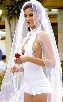 Imagenes de vestidos de novia chistosos