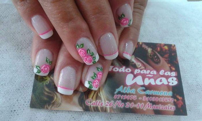 Estilos de uñas para bodas - 1
