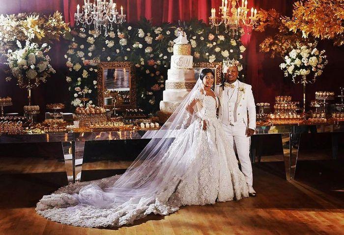 Vestido de novia de yuranis leon