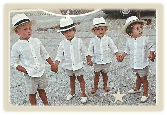 Vestidos de pajes para bodas en la playa