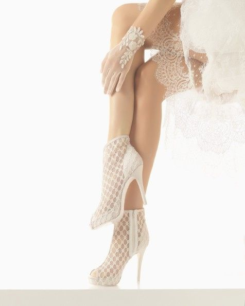zapatos blancos para la boda ?