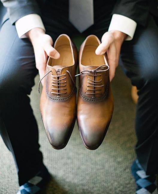 Zapatos de novio: ¿negro o café? 1