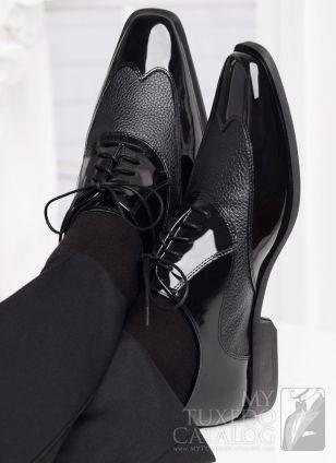 Zapatos de novio: ¿negro o café? 2