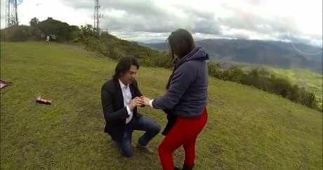 ¿Cómo reaccionaste cuando te pidió la mano? - 1