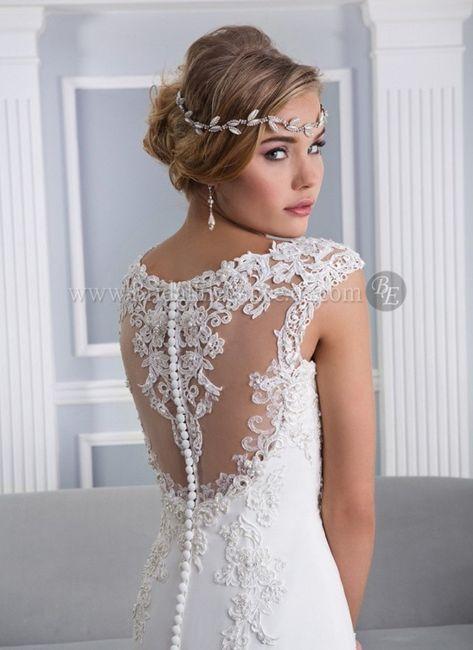 lace tattoo: la tendencia en vestidos de novia :)