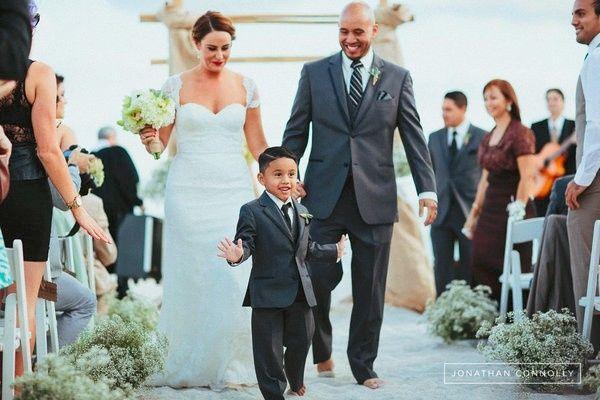 Resultado de imagen de boda con hijos
