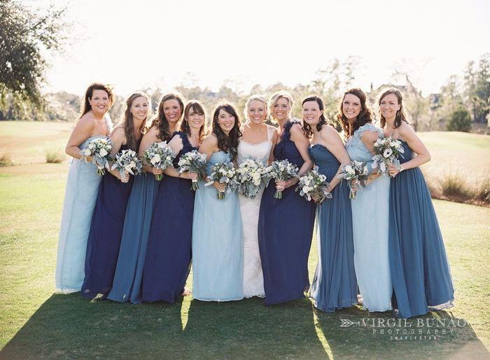 Vestidos para damas de honor bogota