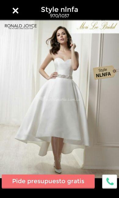 f1e61d354 Necesito un vestido para boda civil corto. - 1