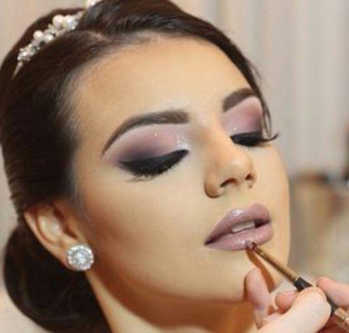 5272b7c83a Maquillaje en morado ( sin miedo chicas)