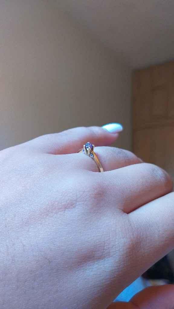 ¡Comparte una foto de tu anillo de compromiso! - 1