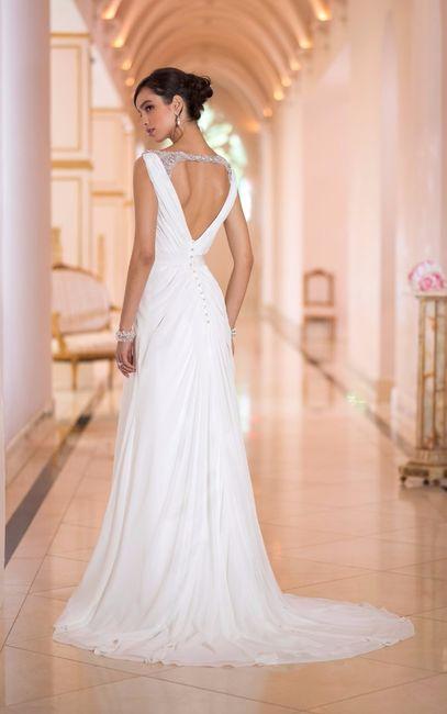 Vestidos de novia de corte griego