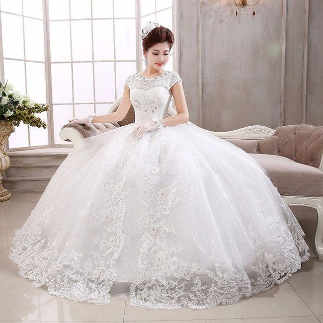 vestido de novia: corte princesa