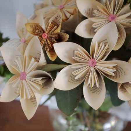 Flores para yugo y para centros de mesa