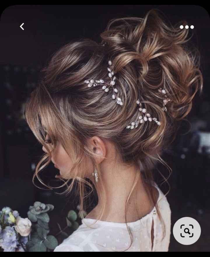 Opina y valora este peinado de novia 👇 - 1