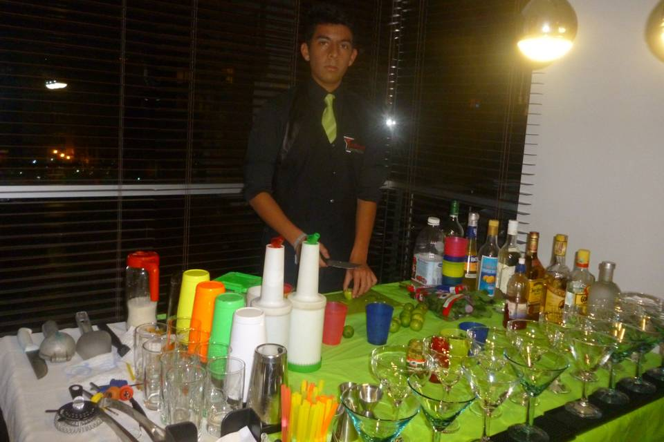 Preparacion cocteles