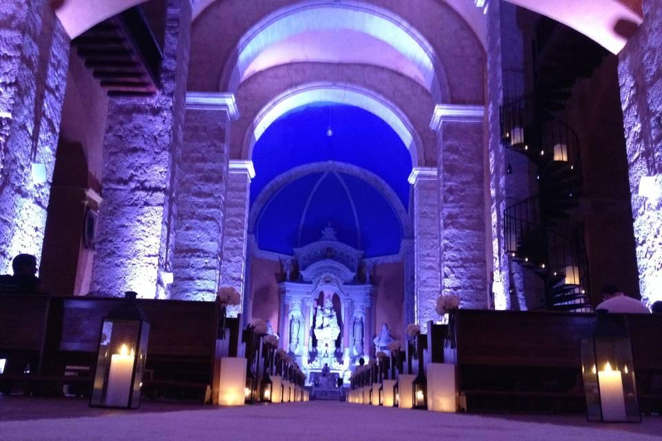 Decoración iglesia Santo Domingo
