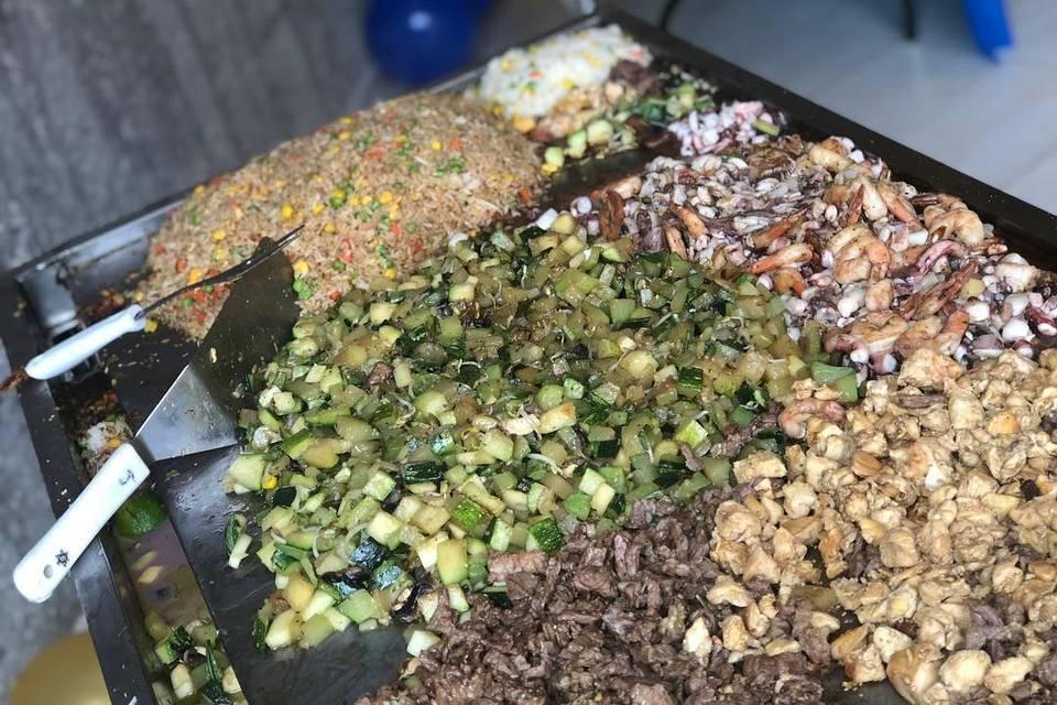 Donburi Teppanyaki