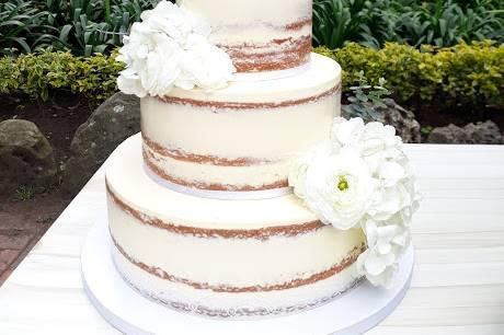 Wedding naked cake 80 porción