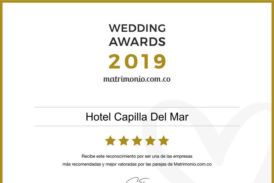 Reconocimiento Wedding Award